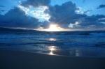 Закат. Море.